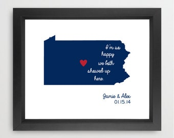 Penn State Happy Print