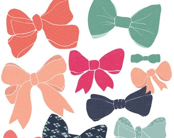 Bow Clip Art - Bow Tie Clip Art, Bow Vector File and Photoshop Brushes