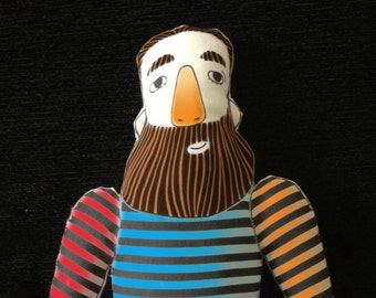 Father textile soft toy