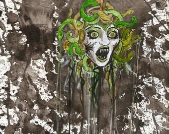 Medusa's last glare