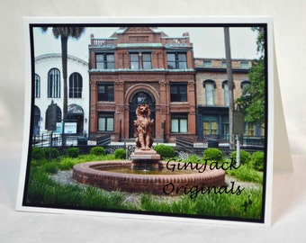 Historic Savannah Blank Note Cards,  Notecards, The Cotton Exchange, Savannah GA, Stationery Sets, Blank Cards, Gift Items,