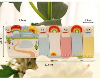Sticky Memo Notes - rainbow