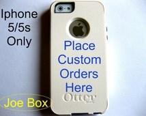 otterbox iphone 5 case, Iphone 5 case, Glitter case, cute iphone 5 case, custom otterbox iphone 5, gift,  iphone 5 case,custom order