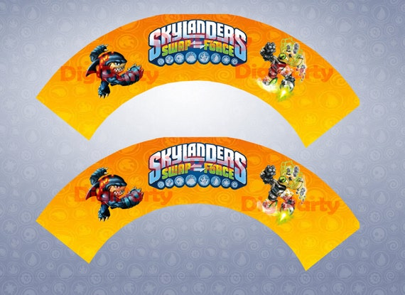 Items similar to Skylanders Swap Force Birthday Party ...