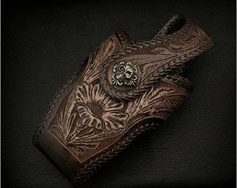 Wallet Holster(Dark Brown)/ K13A01
