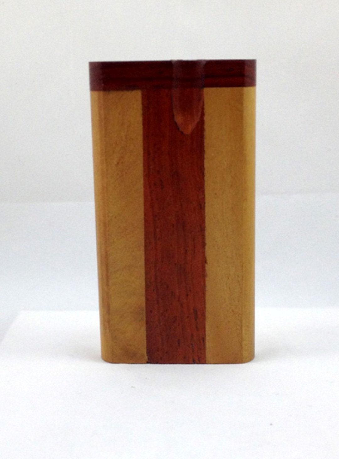 "08- Wooden Dugout - One Hitter - Approx 4""x2"""