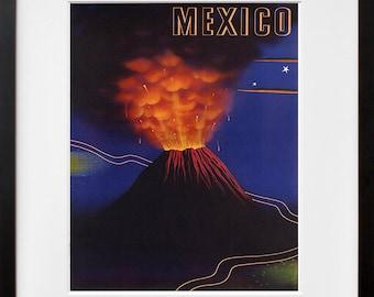 Mexico Travel Art Print Mexican Home Decor (ZT288)