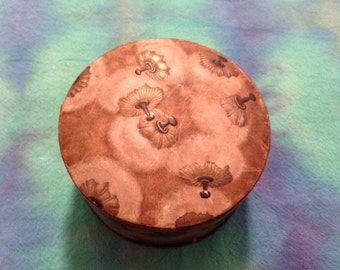 Vintage Coty Powder Puff Powder Box