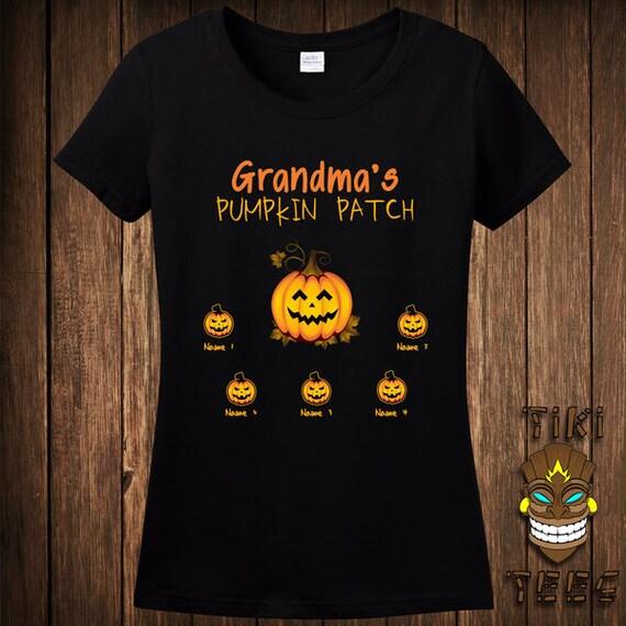 Funny halloween t shirt custom gift tshirt tee shirt grandmas for Custom t shirts personalized gifts