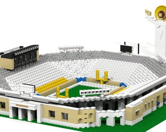 Notre Dame Stadium with Touchdown Jesus, Brick model