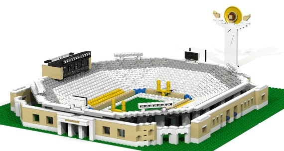 notre dame stadium with touchdown jesus brick model notre dame logo vector art notre dame vector free
