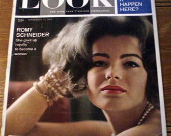 1962 Look Mag - September