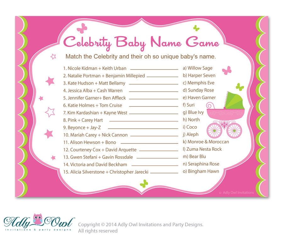 Top 20 Weirdest Celebrity Baby Names - World Of Female