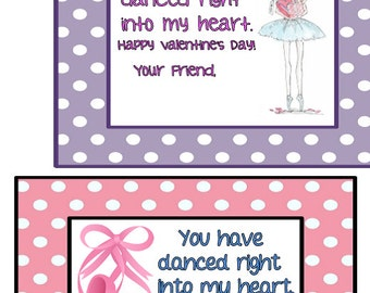 Dance Themed Valentine's Day Variety Pack