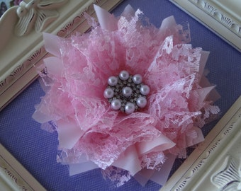 "Fabric Flower and Headband Tutorial/ Pattern ""Celebrity"" pattern/How to make a fabric Flower"
