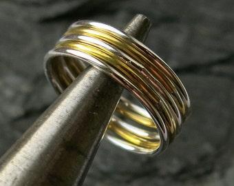 Stacking ring mix, medium 1.0mm