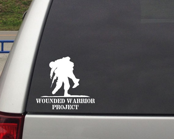 wounded warrior project decals