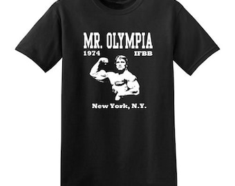 Arnold Schwarzenegger t-shirt new vintage style mr. olympia choose size XS-3XL mens or ladies