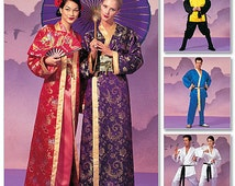 Misses',Men's and Teen Boys' Robe Costumes McCall's Pattern M2940
