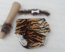 Baby boy caveman/Tarzan costume, baby boy, fancy dress,  Baby fancy dress,  costume, diaper cover,made to order