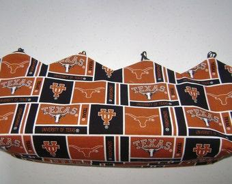 Reversible Interchangeable University of Texas Longhorns Purse Cover