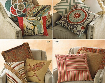 Simplicity Pattern 1633 Pillows