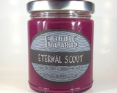 Eternal Scout -- Welcome to Nightvale Inspired 8 oz Scented Soy Candle