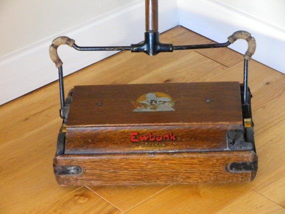 Antique Ewbank Success Edwardian Era Carpet Sweeper