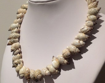 Necklace. Sihi sa bato shells.