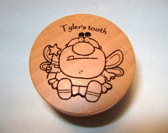 Personalized Tooth Fairy Boxes with YOUR personal NAMES included.