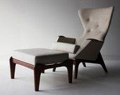 Craft Associates™ Lounge Chair and Craft Associates™ Ottoman 1406