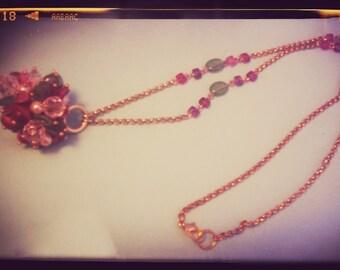 Vintage gorgeous stones necklace