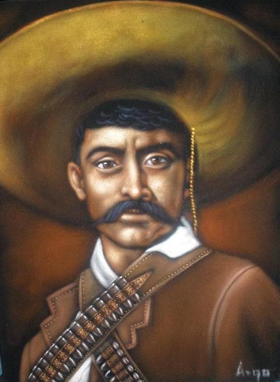 Emiliano zapata badass revolution heroe black velvet oil for Villas zapata