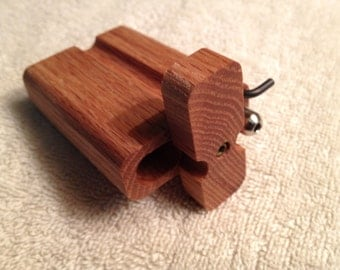 "Oak Tobacco Dugouts Junior 3/4"" x 2"" x 3"" Size"