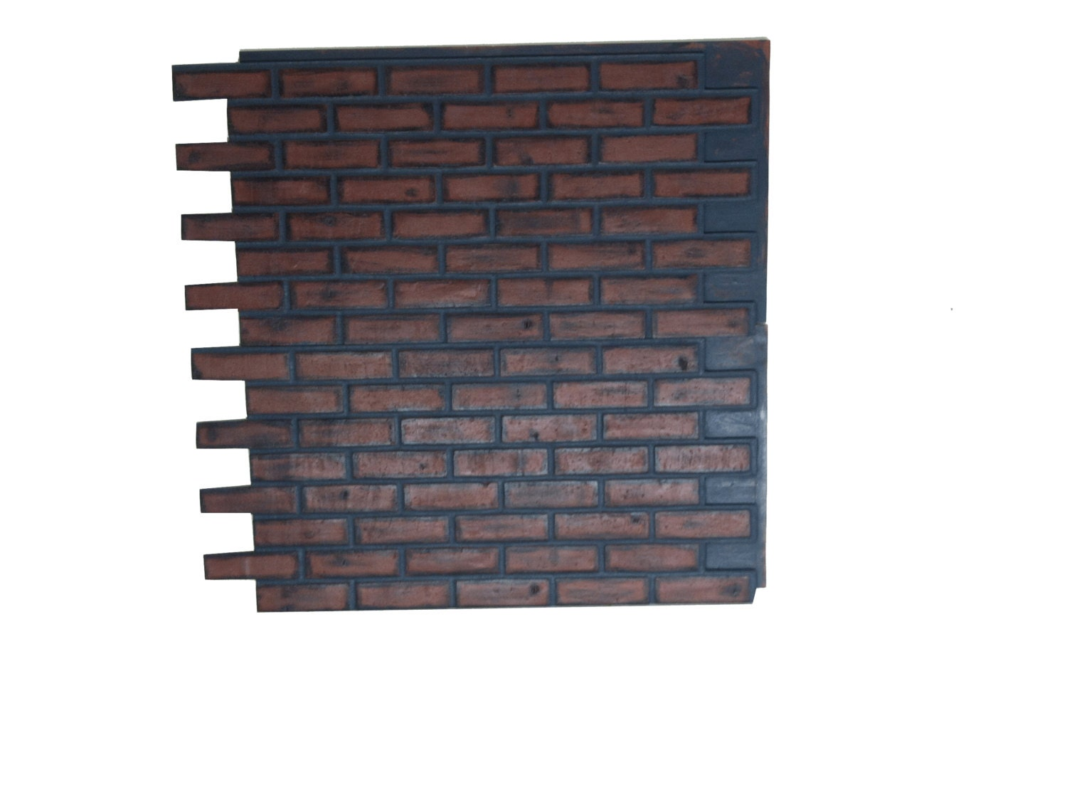 Brick wall false decorative panels from real bricks by - Brick decorative wall panels ...