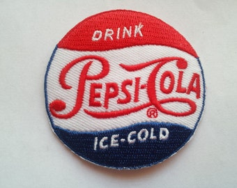 Soda Drink Cola Cold Beverage applique iron on patch