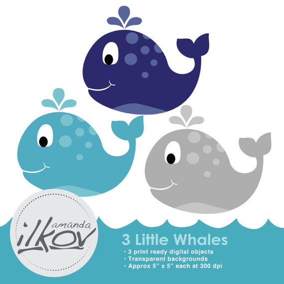 baby shower whale clipart - photo #31