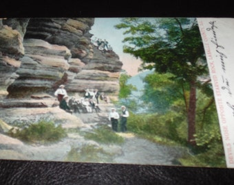 POSTCARD Early 1900s Devils Nose Opposite Starved Rock ILL