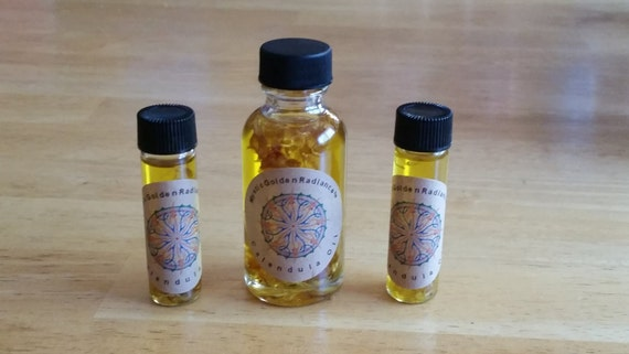 NEW Mystic Golden Radience Oil ! Calendula at it's finest!
