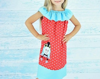 Thomas Train Dress