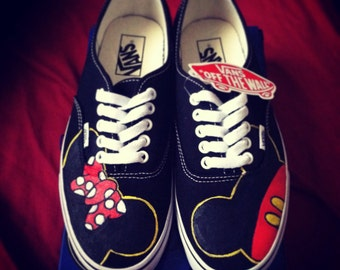 Mickey & Minnie Adult Custom VANS Shoes
