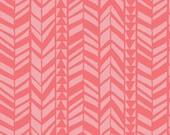 Pink Geo Braid - What A Gem by Camelot Fabrics Cotton Fabric Fat Quarter