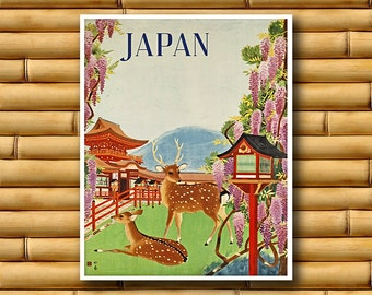 Japan Art Travel Poster Wall Print Japanese Decor (AJT8)