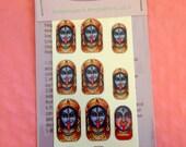 Kali Hindu Goddess Nail Wraps