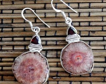 Sterling Silver Balinese Dangle Earrings