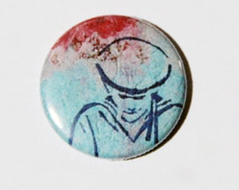 pin badge  sailor