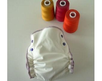 AIO Certified Organic Hemp Fitted Diaper Size 2
