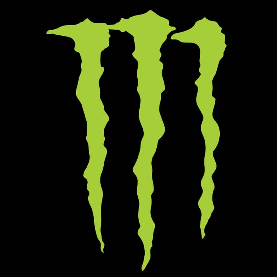 monster energy sticker x large decal 23 84 by. Black Bedroom Furniture Sets. Home Design Ideas