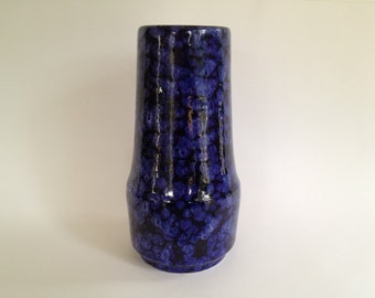 Scheurich Keramik 529 / 25 Vintage vase,   made in the 1970s in West Germany Pottery. WGP vase.