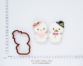 Snowman Cookie Cutter (budget cutter)